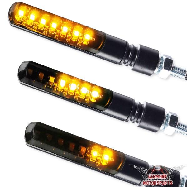 LED Blinker Sequentiell Blade schwarz getönt