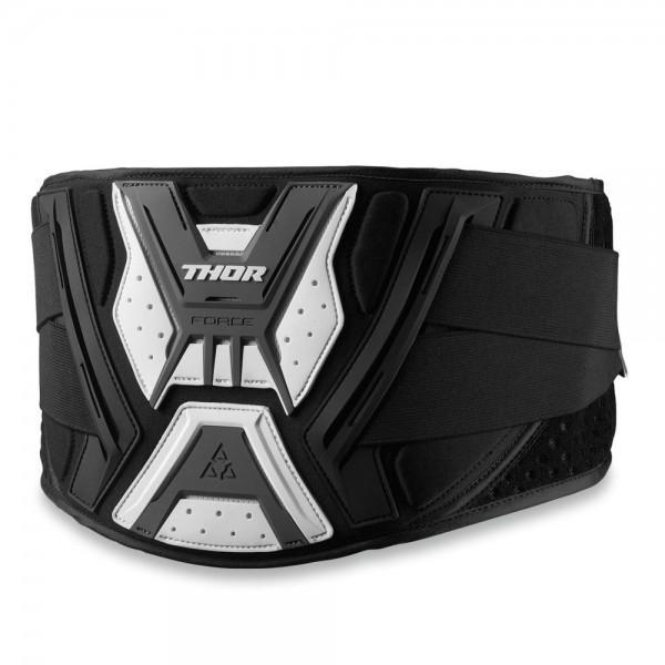 Thor Force Support Nierengurt schwarz weiß grau