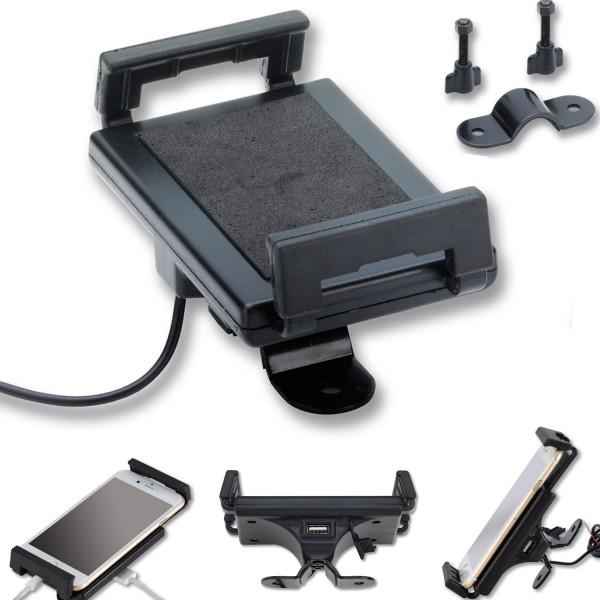 Handyhalter mit USB Ladestation