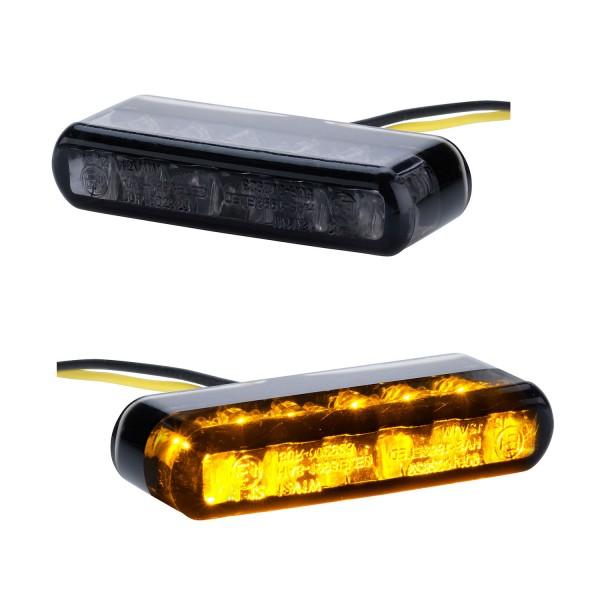 LED Blinker Shorty schwarz getönt