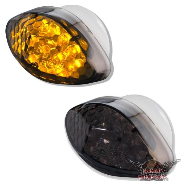 LED Verkleidungsblinker Honda schwarz getönt