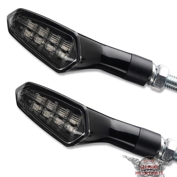 LED Blinker Pike schwarz