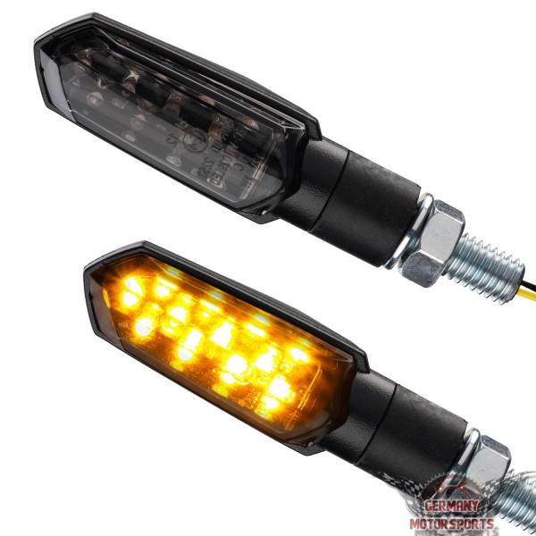 LED Blinker Spear schwarz getönt