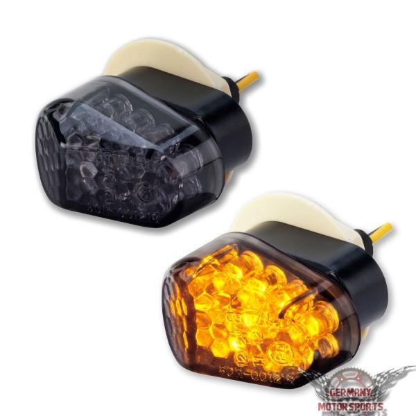 LED Verkleidungsblinker Yamaha schwarz getönt