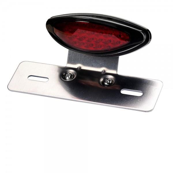 LED Rücklicht Classic mit Kennzeichenträger